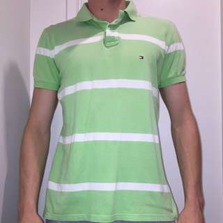 VINTAGE TOMMY HILFIGER POLO MENS/WOMENS