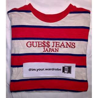 GUESS x ASAP [Japan Exclusive] - Stripe Tee (L)