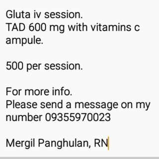 GLUTA IV INJECTION