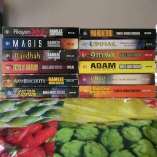 Koleksi Novel Ramlee Awang Murshid