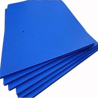 Blue Coroplast