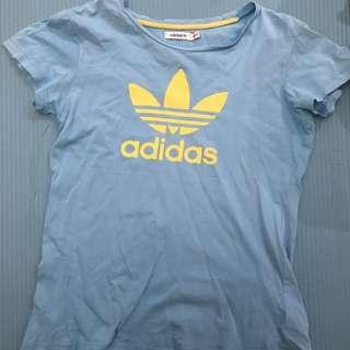 Adidas blue tshirt