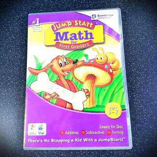 JumpStart Math for 1st Graders