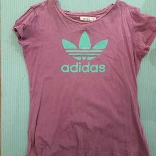 Adidas purple tshirt