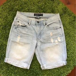 Cotton on 淺色牛仔短褲