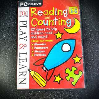 Reading & Counting (ages 3-5)