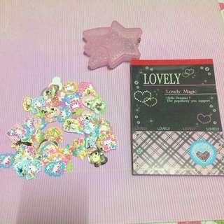 可愛貼紙(有盒) 和 Memo 紙