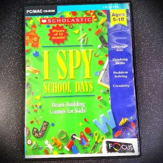 I Spy - Brain building games for kids !