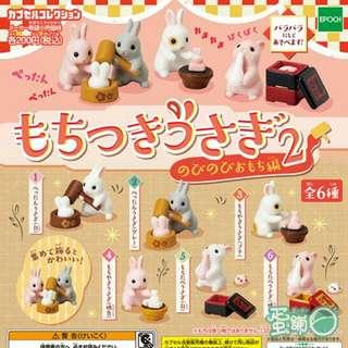 麻糬兔扭蛋