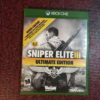 (Xbox One) Sniper Elite III Ultimate Edition
