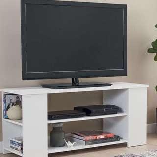 BRAND NEW WHITE TV STAND