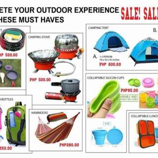 Camping Tools Must Have