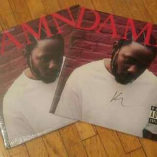 SOLD OUT Kendrick Lamar Damn Limited Edition Vinyl SIGNED & T-shirt
