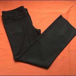 Black Slacks, Size: Best Fits 27 or 28