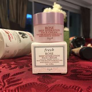 FRESH rose DEEP hydration face cream 24 hour release