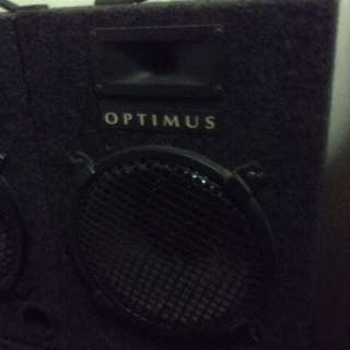 4 pieces speakers (ideal for a pub)