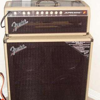 Fender Supersonic and 4x12 cab