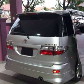 Toyota Estima for rental. cheap mpv for rental