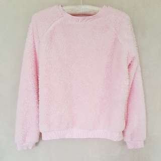 Asos baby pink sleep jumper • Size small