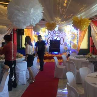 FREE USE OF VENUE with catering services