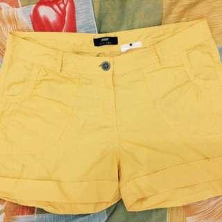 Yellow Shorts