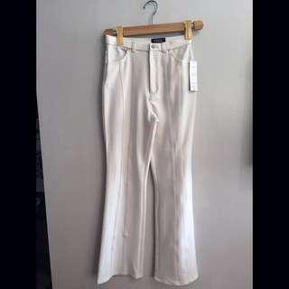 Stretchable Bootleg Pants
