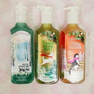Bath & Body Works gentle foaming