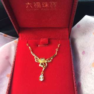 LUKFOOK 24K Gold Necklace