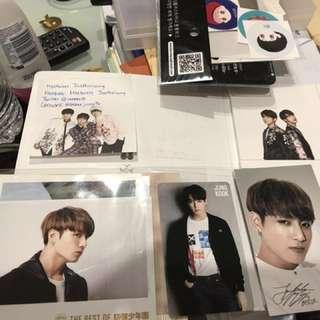 BTS - JUNGKOOK Photocard