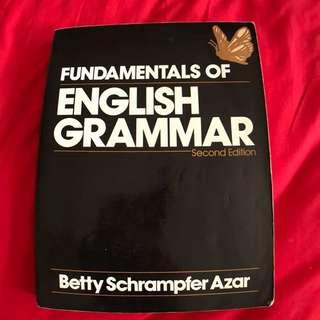 FUNDAMENTALS OF ENGLISH GRAMMAR  英文書籍