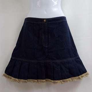 Anny's Life生活著時尚品味舒適牛仔裙安妮公主童裝全新含吊牌原價1790元女童14號專櫃服飾台灣百大品牌