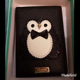 Cute Penguin Kate Spade Passport Cover