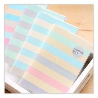 Rainbow Notebook (NB009) X 2