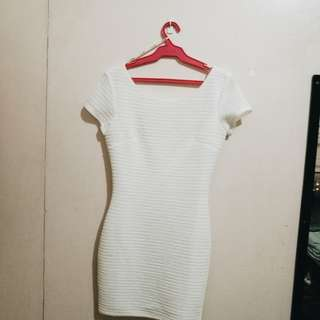 F21 Little White Dress