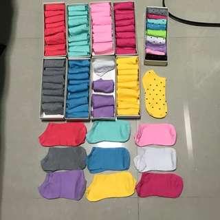 Unisex Male Female Colourful Ankle Sock