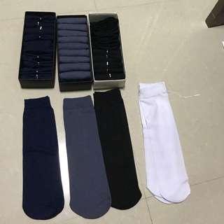 Men Long Working Sock Thin Material