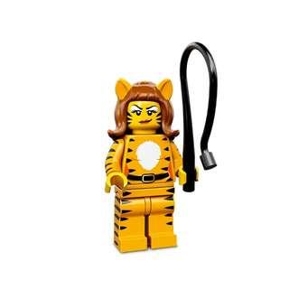 Lego Minifigures Series 14 Tiger Woman / Girl / Mascot (CMF S14) Super Rare!