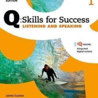 Q:skill for success