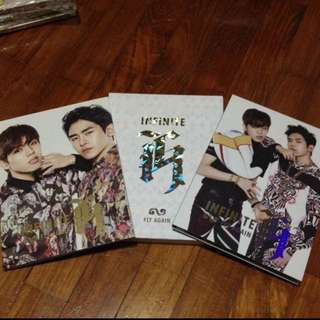 Infinite H Fly Again Albums