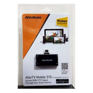 🔥🔥🔥FLASH SALES🔥🔥🔥AverTV Mobile 510 - Watch and record Digital TV on Android Device