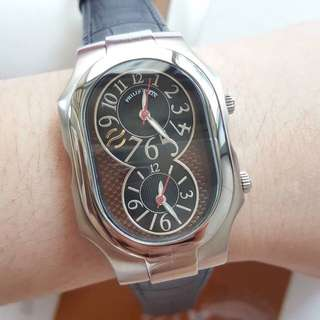 Philip Stein Dual Time Large Size2