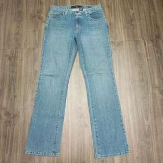 Calvin Klein Jeans 淺藍 刷色 彈性材質 牛仔褲 (W31)
