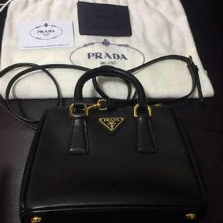 Prada black killer mini bag 黑色迷你殺手包