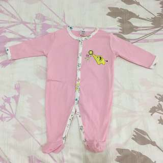 3 pieces of good used condition sleepsuits