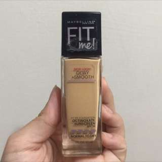 Maybelline Fit me dewy and smooth 保濕款粉底液