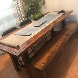 Barn table set