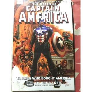 The Death of Captain America: The Man Who Bought America Comics