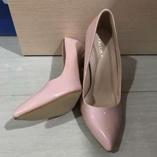Zalora pink heels