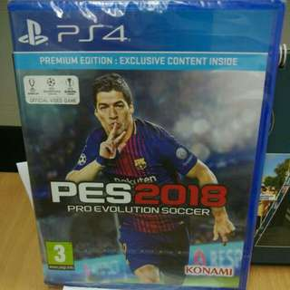 [New] PES 2018 Premium Edition (R2) PS4 Game