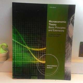 👉個體經濟學 Microeconomics Theory. #教科書出清